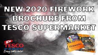 Tesco Supermarket 2020 Standard Fireworks Leaflet!