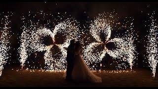 Холодные фонтаны и вертушки на свадьбу | Ростов | GOF show
