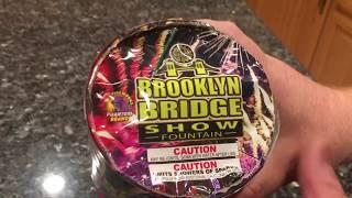 Brooklyn Bridge Show by Phantom Fireworks 2019