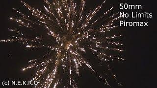 50mm Batterie No Limits Piromax Silvester 2017/2018 (Fireworks, Vuurwerk, Fajerwerki) Full HD
