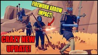 Fireworks Archers are AMAZING in Totally Accurate Battle Simulator's New Update!