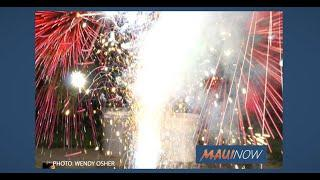 Rampant Fireworks Use Sparks Concern, Discussion on Maui