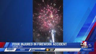 Four injured by fireworks durring Utah Summer Games
