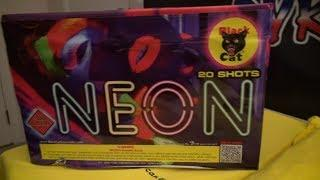 NEON - BLACK CAT FIREWORKS