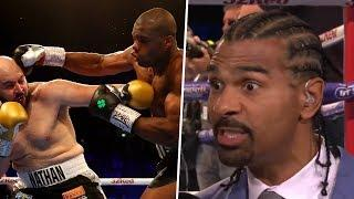 """We got fireworks!"" David Haye breaks down where Dubois v Gorman was won and lost"