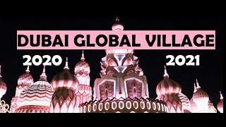 GLOBAL VILLAGE 2020-21 | DUBAI TOUR | PART 1 - CELEBRATION WALK, LUQAYMAT, FIREWORKS, YEMEN - ARSHA