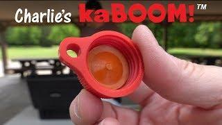 LOUDER than M-80s (Safe fireworks) KEN HERON - Charlie's KaBOOM
