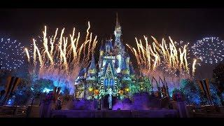 [4K] NEW - Disney's Not-So-Spooky Fireworks and Projection Show  | 2019 Not-So-Scary Halloween Party