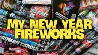 Моя пиротехника и петарды на Новый Год 2021 | Распаковка посылки - салюты римские свечи ракеты блицы