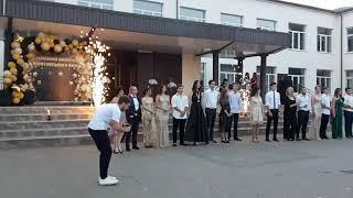 Заказать холодные фонтаны на школьный выпускной в Одессе.