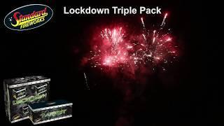 Lockdown Triple Pack by Standard Fireworks UK