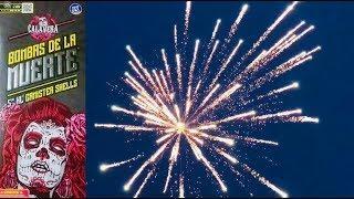 "Bombas De La Muerte 5"" XL Canister Shell - Calavera Fireworks"