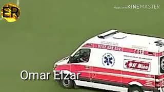 Referee get injured by fireworks in Universitatea Craiova vs Budapest honvéd in Europa league