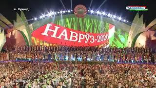 Праздничный салют в честь Дня НАВРУЗ  Хучанд 2020  - NEW YEAR FIREWORKS 2020 IN KHUJAND 2020