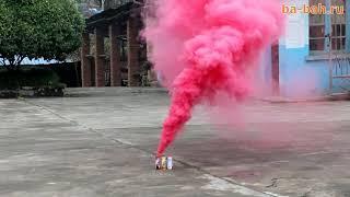 Дымовой фонтан красный MA0509/R (Maxsem)