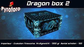 Dragon box 2 - Evolution Fireworks (Nieuw 2018)