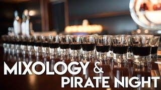 Disney Wonder Mixology Class | Pirate Night & Fireworks