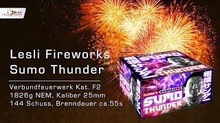 Sumo Thunder von Lesli Fireworks