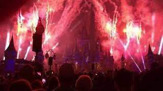 Happily Ever After fireworks show at Walt Disney World Magic Kingdom