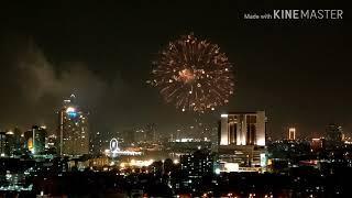 พลุ Fireworks @AVANI Riverside Bangkok Hotel 01/03/2020