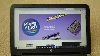 Lidl fireworks leaflet 2018