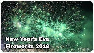 New Year's Eve Fireworks 2019 - Belgrade, Serbia
