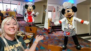 Chef Mickey's Character Dining Summer 2021 & Amazing Fireworks View! Disney's Contemporary Resort