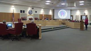 Fireworks during Clay School Board meeting