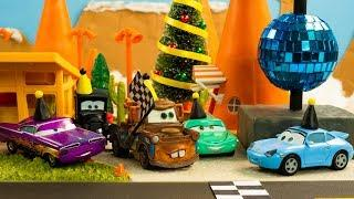 NEW YEAR DASH RACE Disney Pixar Cars Toys Movies FIREWORKS