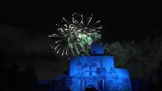 """Disney Afternoon After Dark"" Fireworks - 90s Nite at Disneyland March 7, 2019"