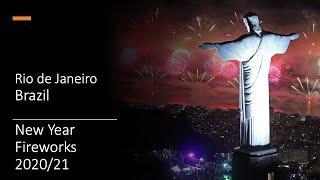 Rio de Janeiro - New Year Fireworks - 2020/2021 - Brazil