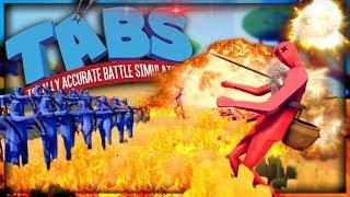 Fireworks Archers Solve Every Problem | Totally Accurate Battle Simulator (TABS)