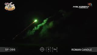 """Римские свечи SF-395 Цветные картинки / Color Shots (0,5"""" х 8)"""