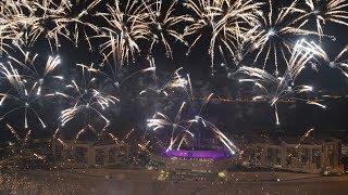 NYU Abu Dhabi 2019 Commencement Eve Fireworks