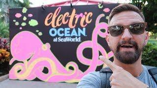 Electric Ocean A Nighttime Summer Celebration At SeaWorld Orlando! | Fireworks, Food & Fun!