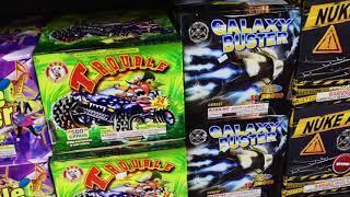 2019 Fireworks Shopping Trip Part 2 Fireworks Fantasy!