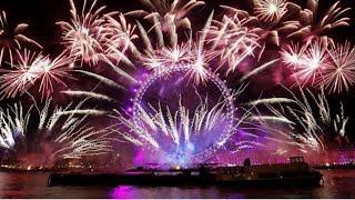 London fireworks 2019 New year's eve fireworks #2019