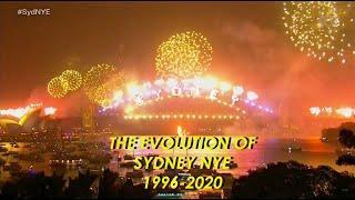 Sydney NYE Fireworks: THE EVOLUTION - 1996 - 2020