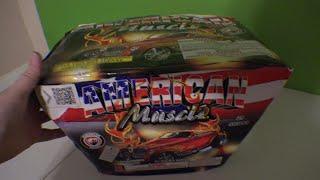 25 SHOT AMERICAN MUSCLE  - DOMINATOR FIREWORKS