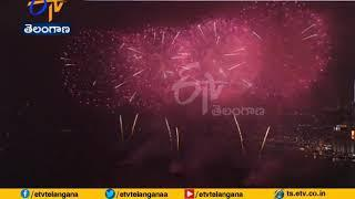 Lunar New Year | Year of the Pig Welcomed | Across Chinese with Fireworks & Red Lanterns