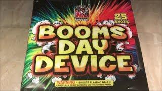 Booms Day Device By Shogun Fireworks