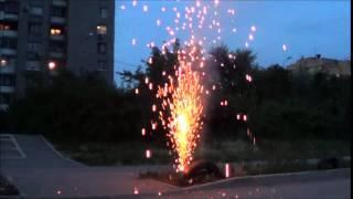 Пиротехнические фонтаны 2014-2015 (подборка)