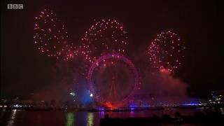 London New Year's Eve Fireworks 2018/2019