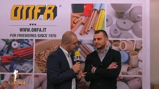 Intervista ditta ONFA XII edizione International Fireworks Fair by GECIMALI
