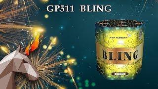 "GP511Bling  (1.2"" х 19) пиротехника оптом ""ОГОНЕК"""