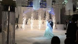 Холодные фонтаны на свадьбу, аренда искромётов Sparkular в Челябинске - Артика студия спецэффектов