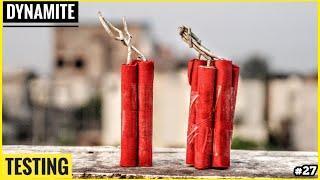 Mini Dynamite B0M Testing • Diwali Firecracker Testing • Fun with Fireworks