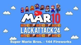 Mar10 Day 2019 - Super Mario Bros. - 144 Fireworks