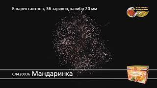 Салют Мандаринка (арт. СЛ420036) — смотреть видео