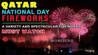 Qatar National Day Fireworks 2020 | Spectacular Fireworks of Qatar National Day 2020 | QND2020
